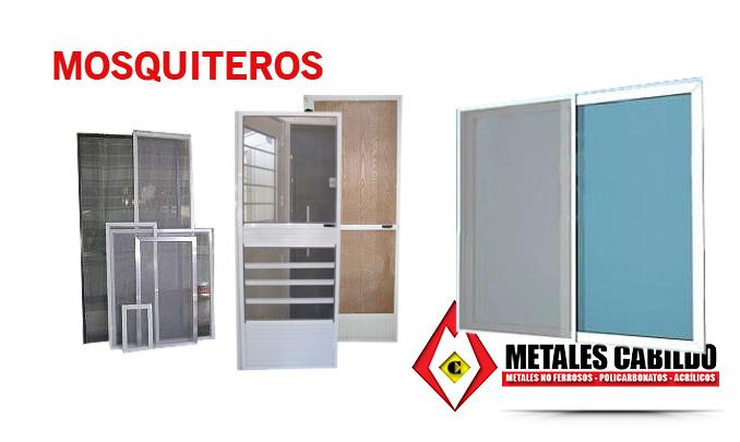 Mosquiteros metales cabildo metales no ferrosos for Mosquiteros de aluminio