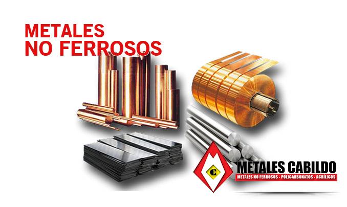 Metales no ferrosos - Metales Cabildo - METALES NO ...